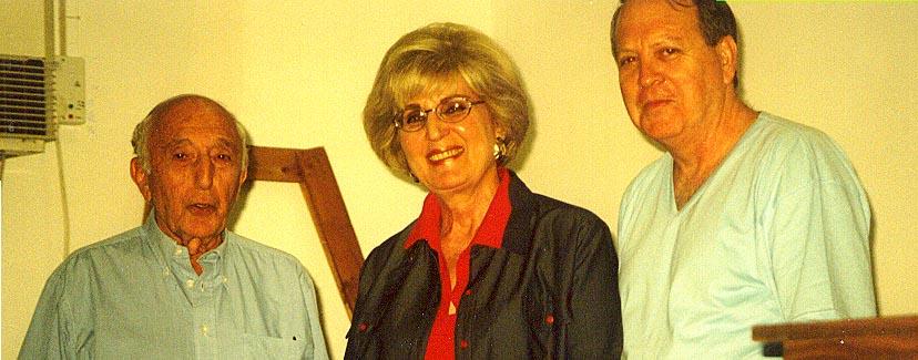 Freda Keet , Nick Alhadeff and Paul Bernstein