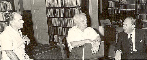 Leib with Ben Gurion