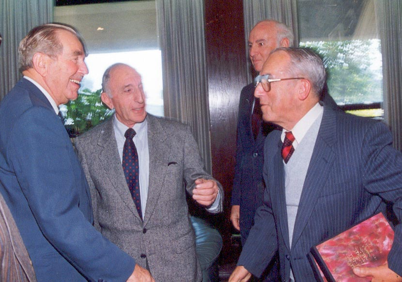 Sam Levin meets President Haim Hertzog