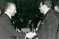 Morris Borsuk with  Yizhak Rabin