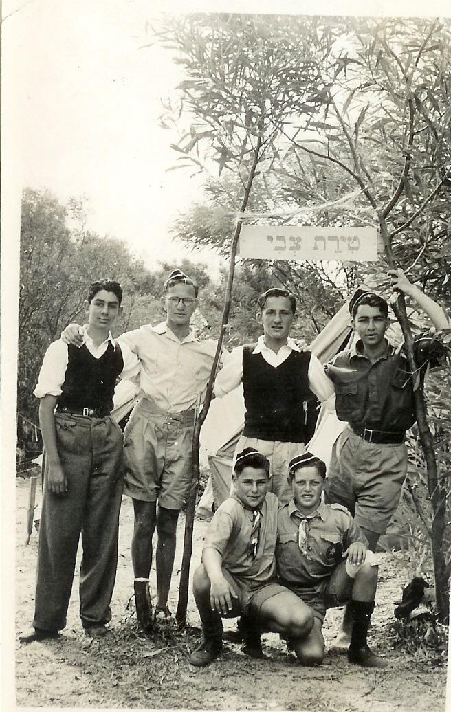 Lakeside 1947'48 LR Standing J.Tocker, S. Kessler, S. Turecki.bottom A. MaizIn & K.Modlin
