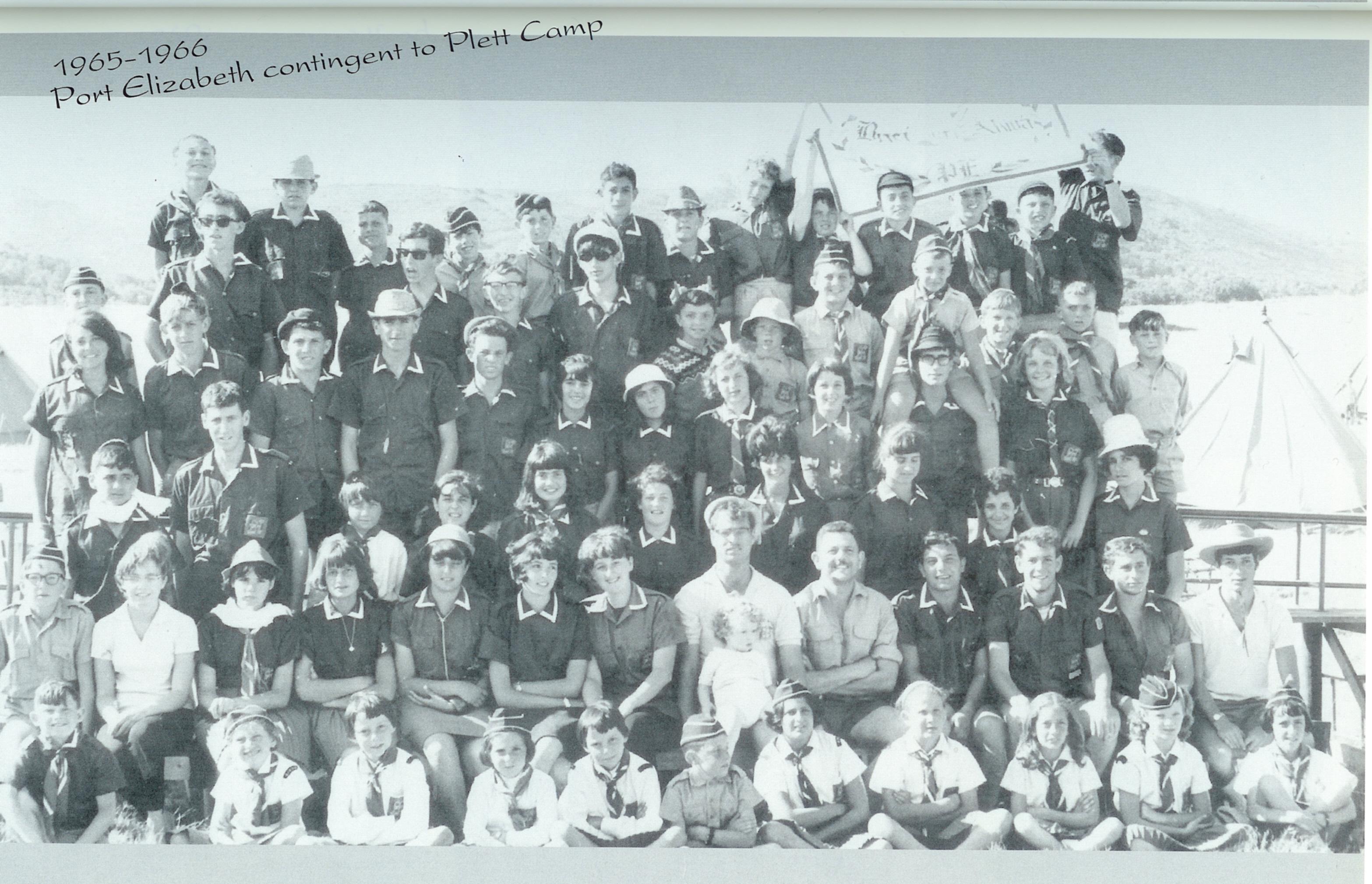 PE Chevrah at Plett Bay 1965