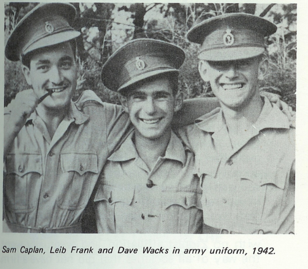 Sam Kaplan, Leib Frank, & Dave Wacks