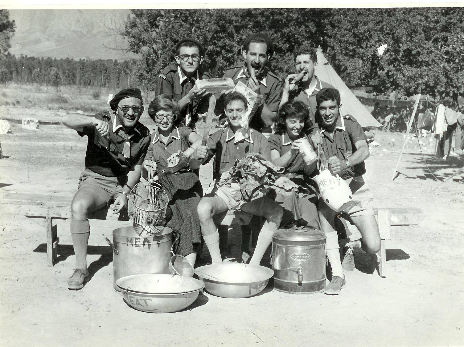 Somerset West  Kitchen Staff 1959'60