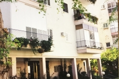 Telfed's apartment in Jan Smuts Ave Tel Aviv