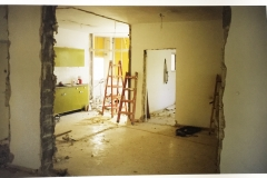 Work in progress at the new Telfed offices in Raanana - circa 1999